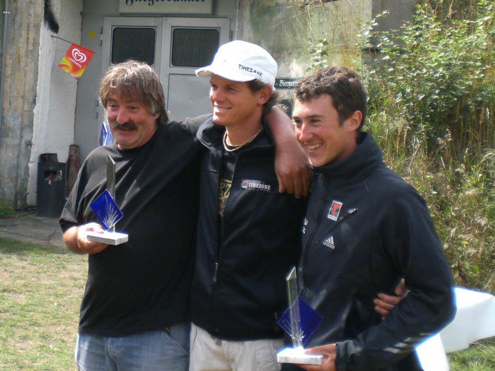Dieter Müglich, Primoz Gricar und Tim Grabowski Die Gewinner der German Open 2008